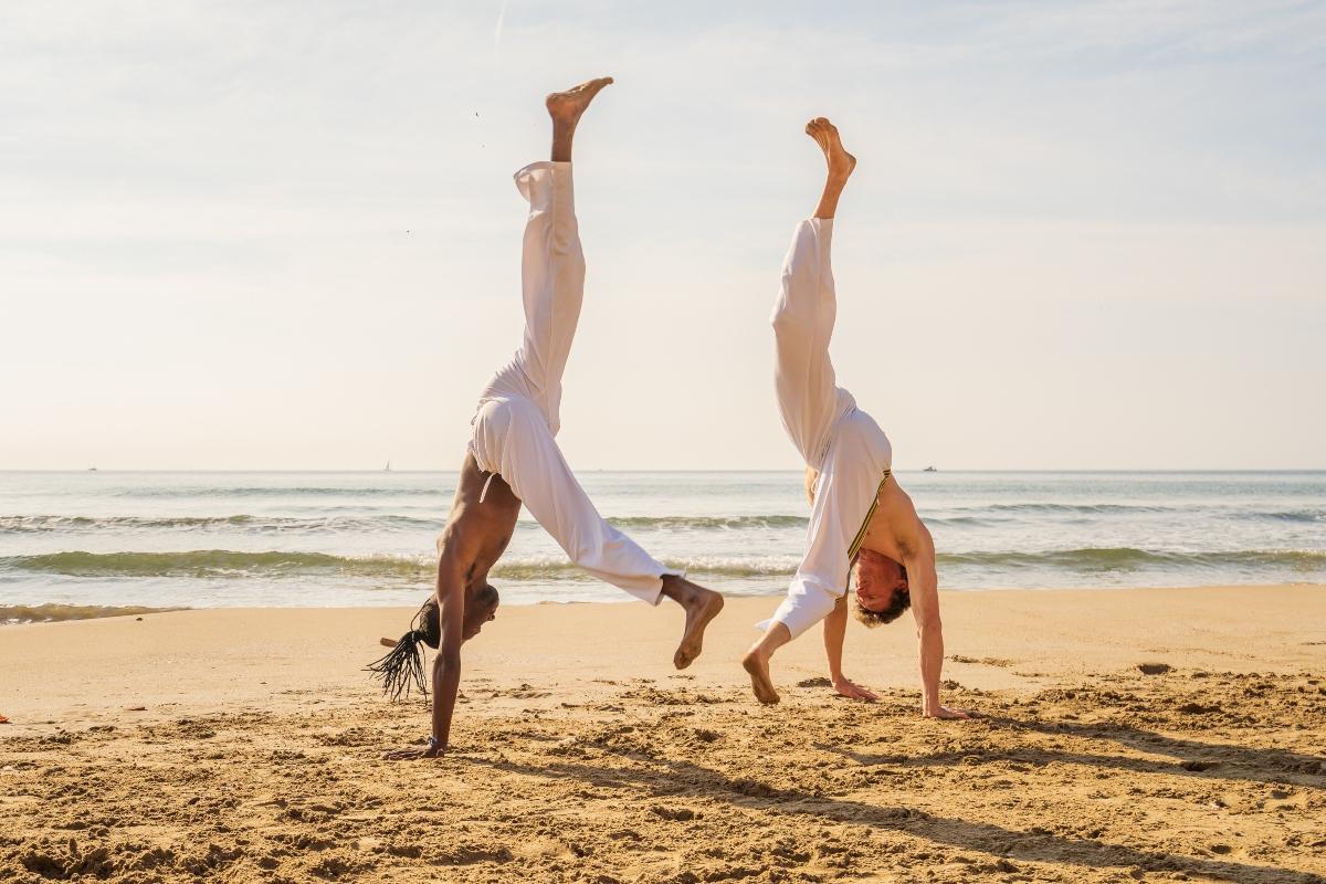 movimientos y golpes en la capoeira