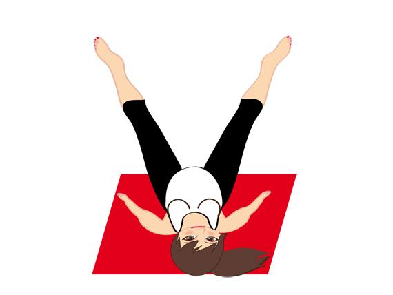 la posición del ángulo en la espalda en yoga durante el embarazo