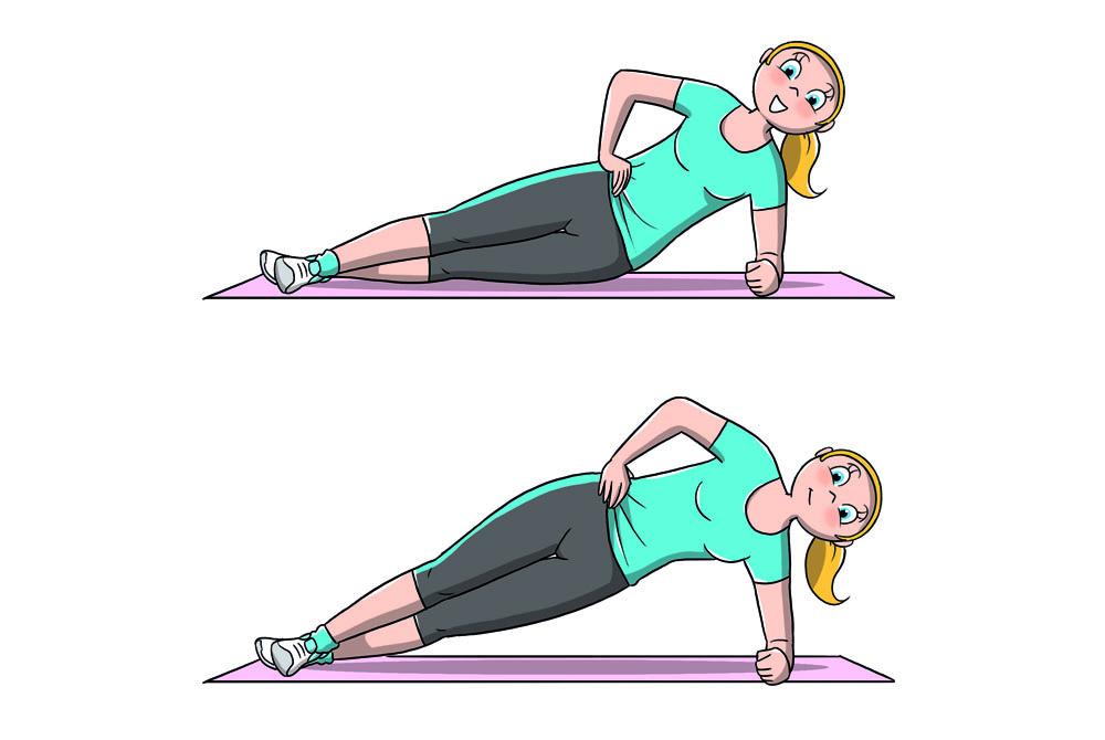 Entrenamiento de 7 minutos: plancha lateral