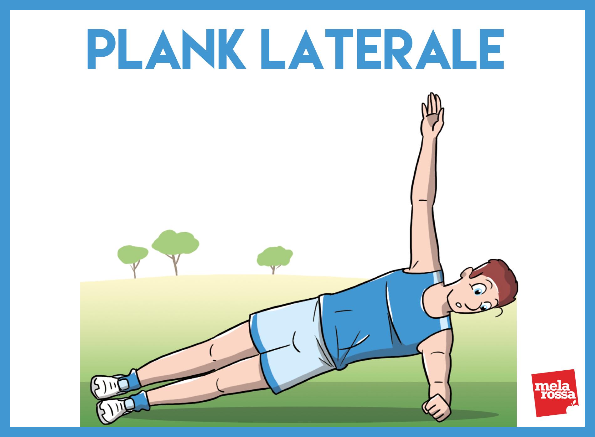 entrenamiento funcional: plancha lateral