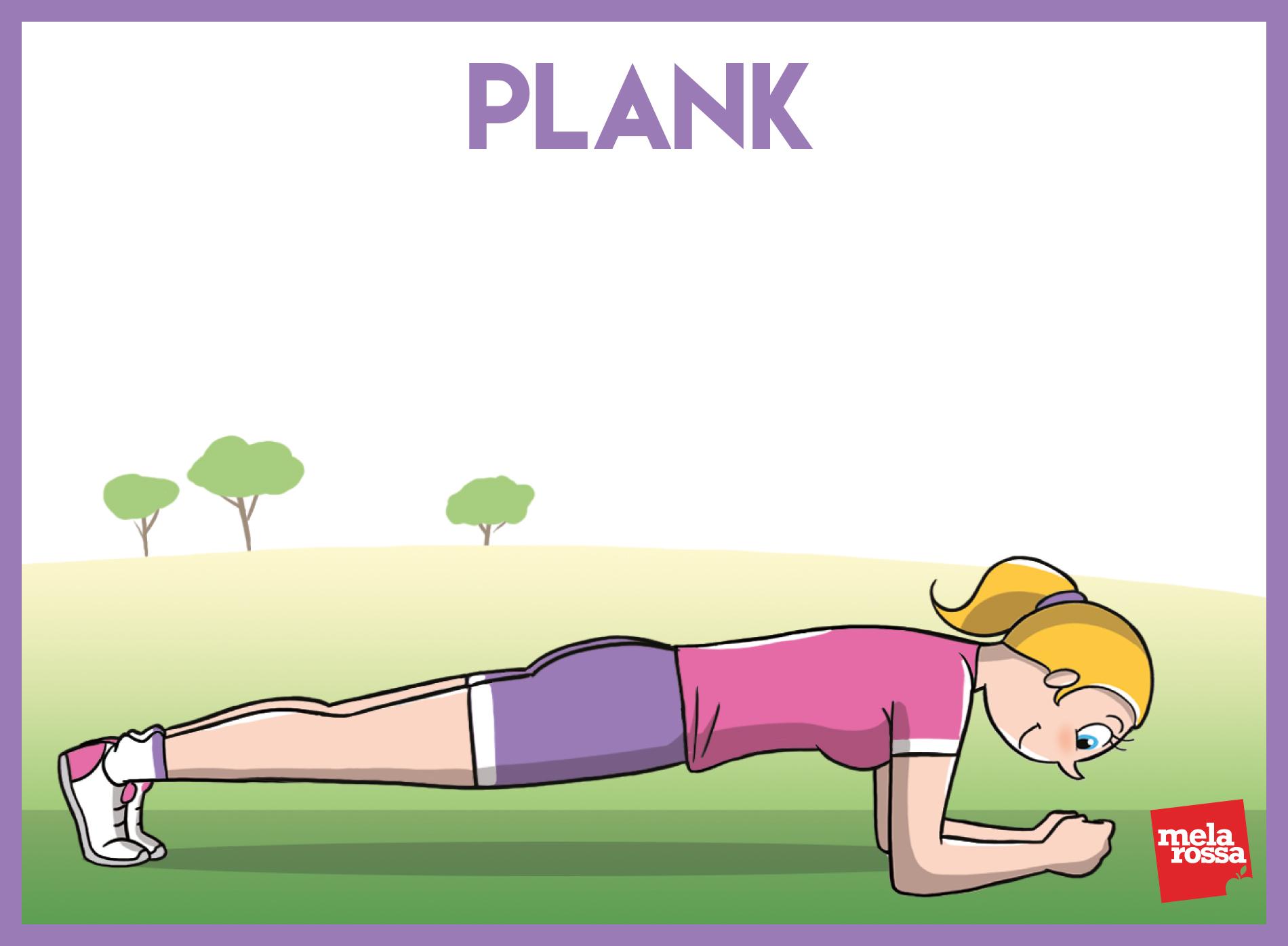 entrenamiento funcional: plancha
