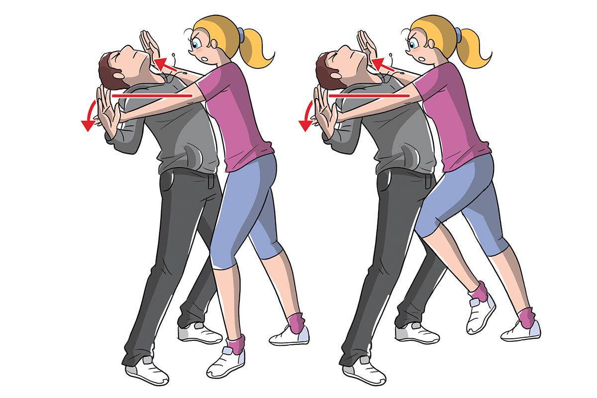 autodefensa: cómo golpear al oponente