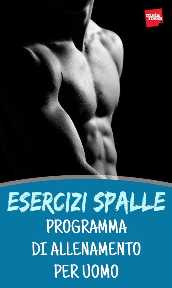ejercicios de hombro: programa de entrenamiento del hombre para hacer en casa