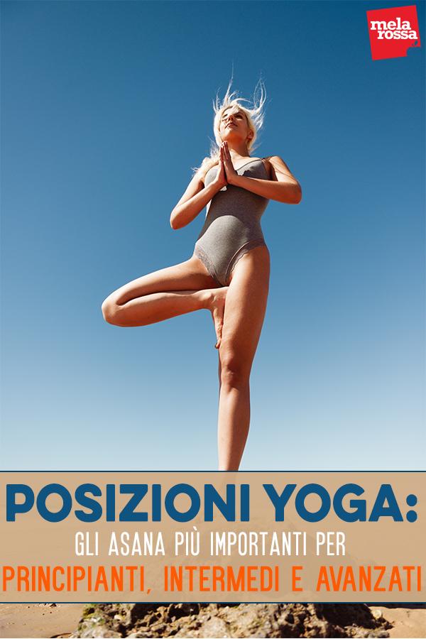 posturas de yoga ilustradas para principiantes y avanzados